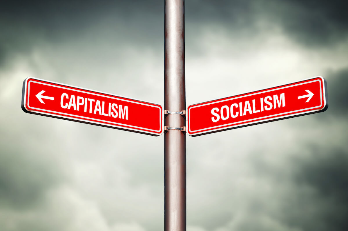 the increase in socialism in the american economy And so the american people are only left with command and control regulatory measures that are blunter and more distortionary to the overall economy, but much more popular with the voting public.